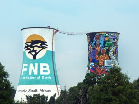 FNB building on Journey to Freedom Tour